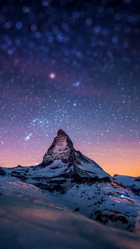 Alps Mountain Matterhorn Switzerland iPhone Wallpaper iphoneswallpapers com
