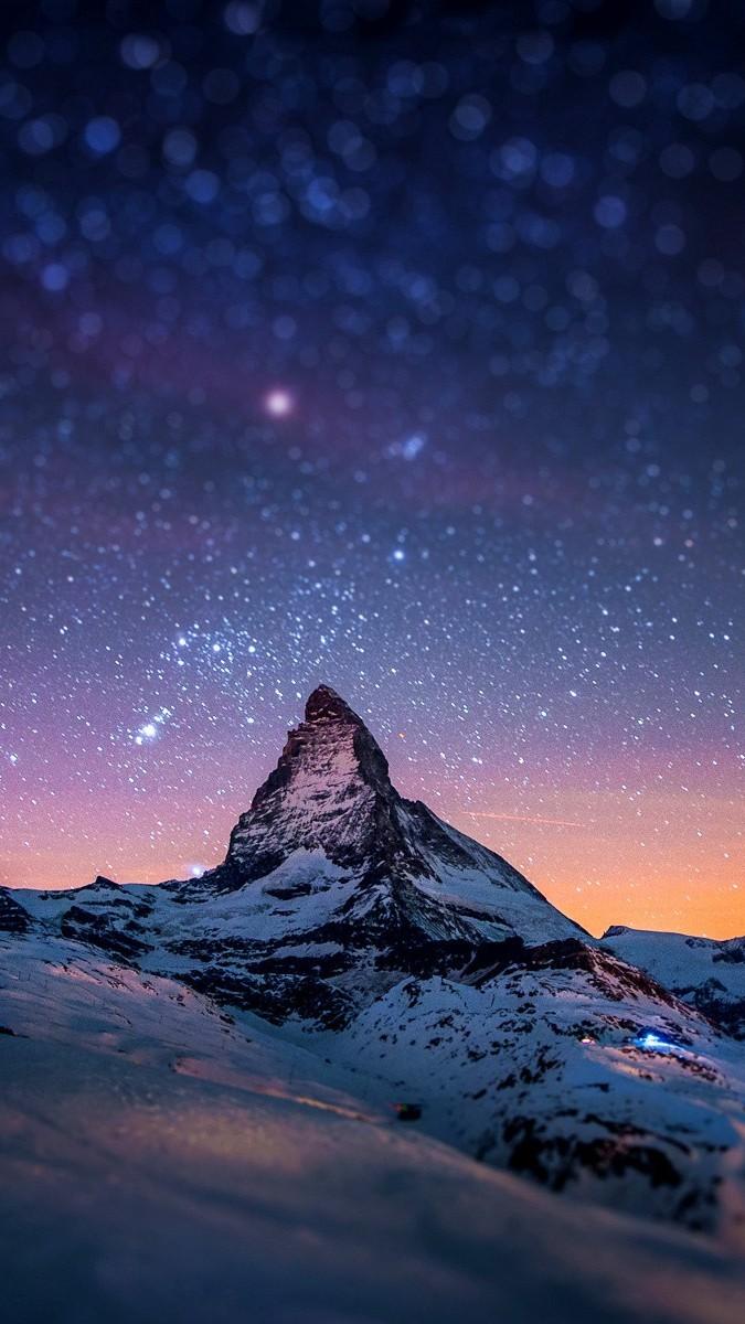 Alps Mountain Matterhorn Switzerland iPhone Wallpaper iphoneswallpapers com
