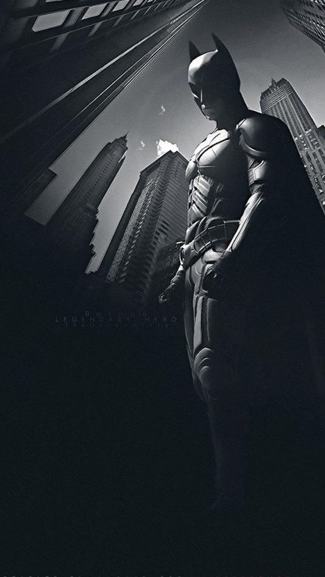 Batman Dark iPhone Wallpaper