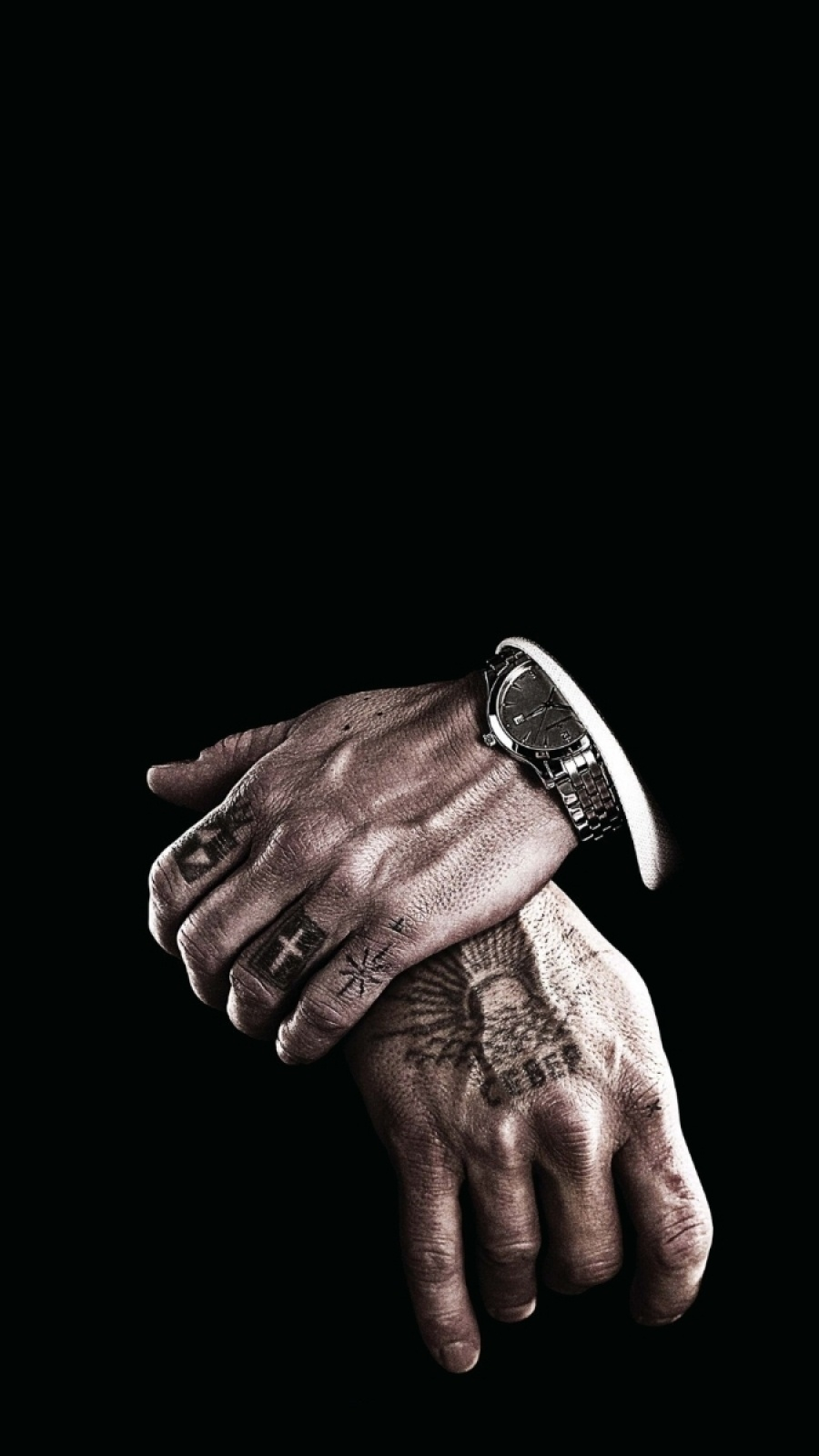 Black mafia watch iPhone Wallpaper iphoneswallpapers com