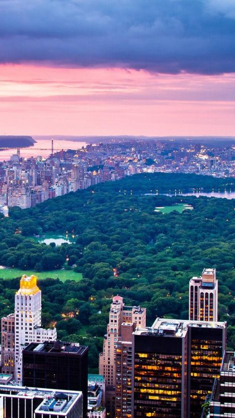 New York Central Park View iPhone wallpaper iphoneswallpapers com