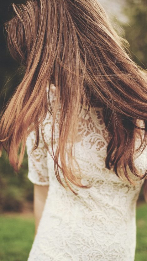 Girl Hairs Beauty iPhone Wallpaper iphoneswallpapers com