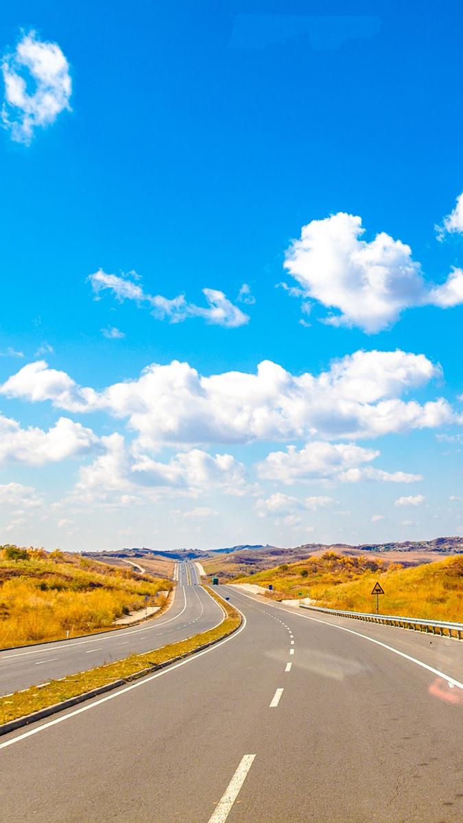 Highway Road iPhone Wallpaper iphoneswallpapers com