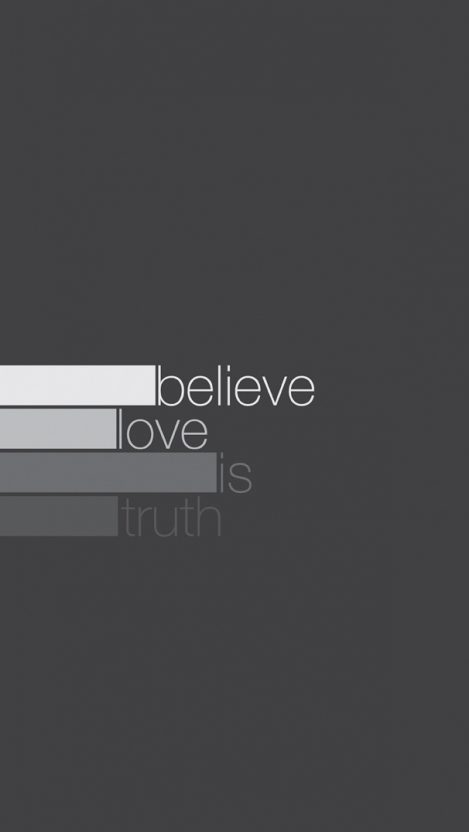 Love is Truth iPhone Wallpaper iphoneswallpapers com