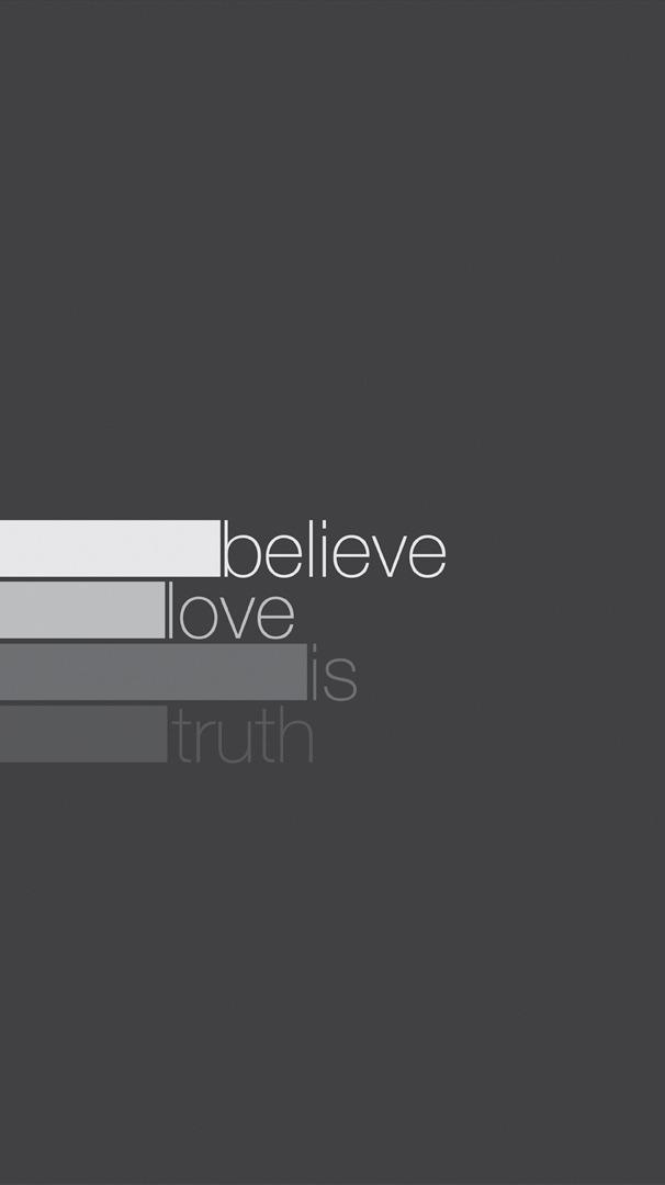 Love is Truth iPhone Wallpaper iphoneswallpapers com