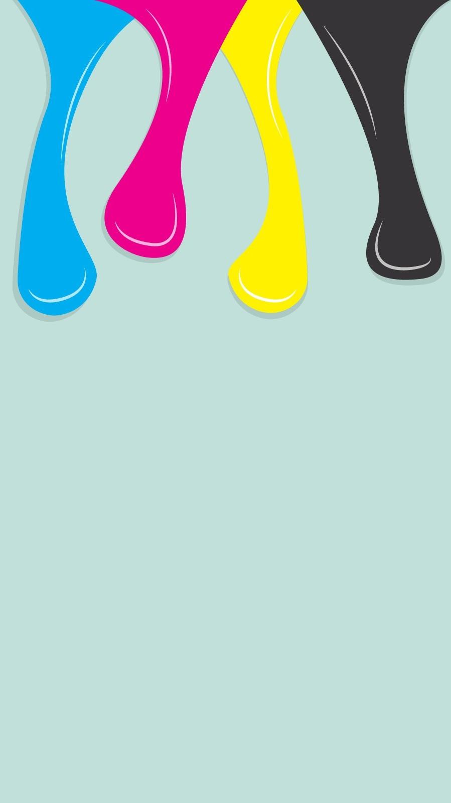 Minimal Water Colors iPhone Wallpaper iphoneswallpapers com