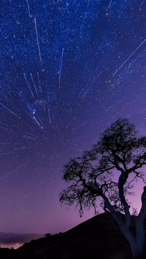 Night-Landscape-Universe-Stars-iPhone-Wallpaper