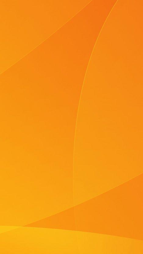 Orange Abstract Waves iPhone Wallpaper iphoneswallpapers com