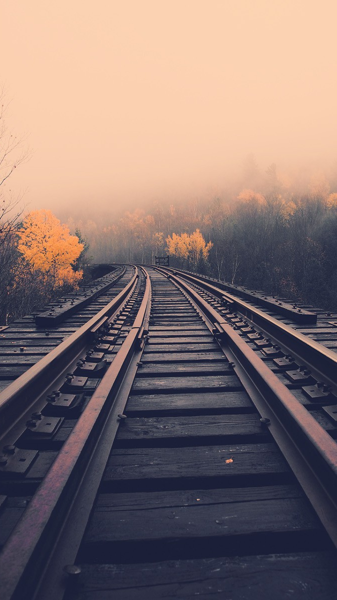 landscape railroad iPhone Wallpaper iphoneswallpapers com