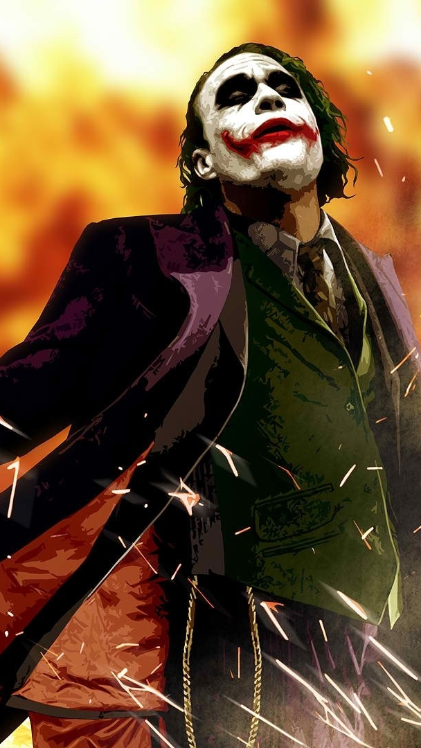 Dark Knight Joker Art Iphone Wallpaper Iphone Wallpapers