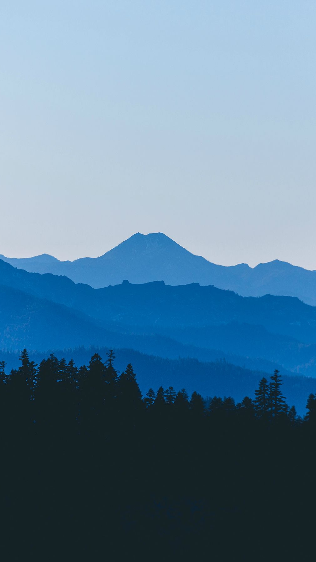 Dark Mountains Fog iPhone Wallpaper iphoneswallpapers com