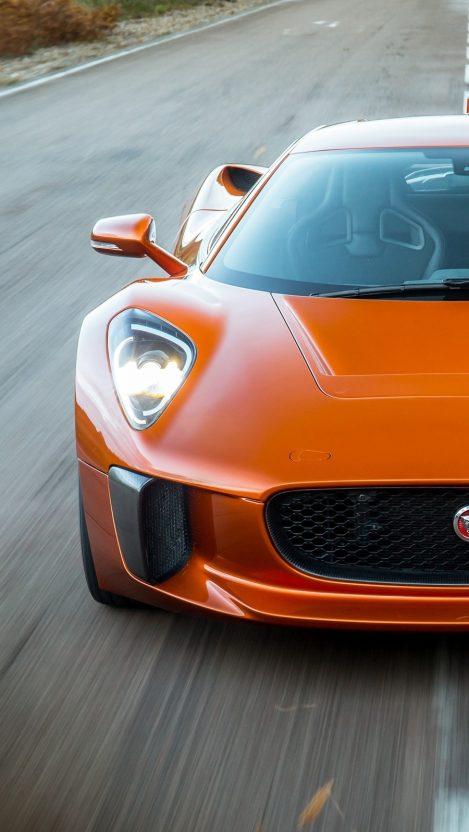 James Bond Spectre Movie Jaguar C x75 iPhone Wallpaper iphoneswallpapers com