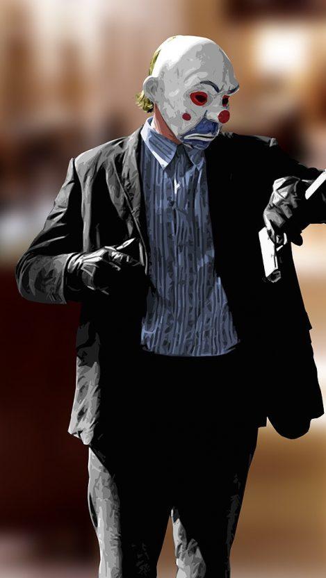Joker From Dark Knight Rises Movie iPhone Wallpaper iphoneswallpapers com