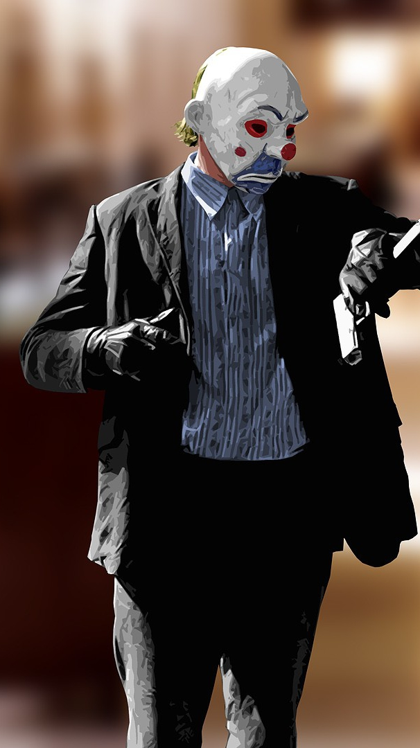 Joker From Dark Knight Rises Movie Iphone Wallpaper