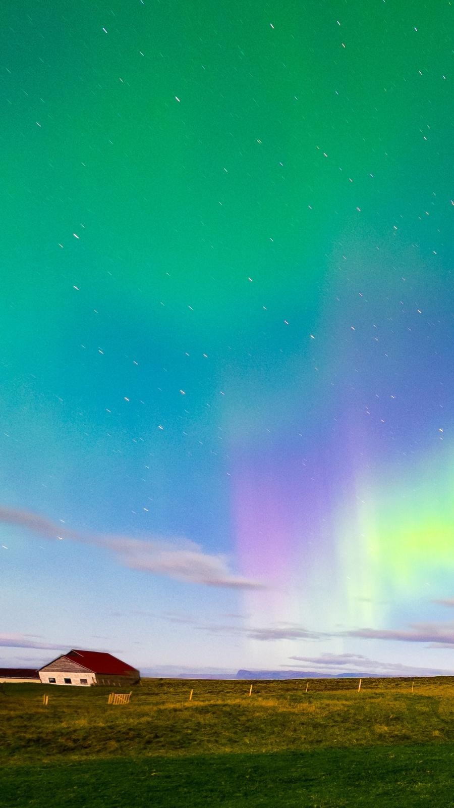 Iceland aurora borealis northern lights iphone wallpaper - Iceland iphone wallpaper ...