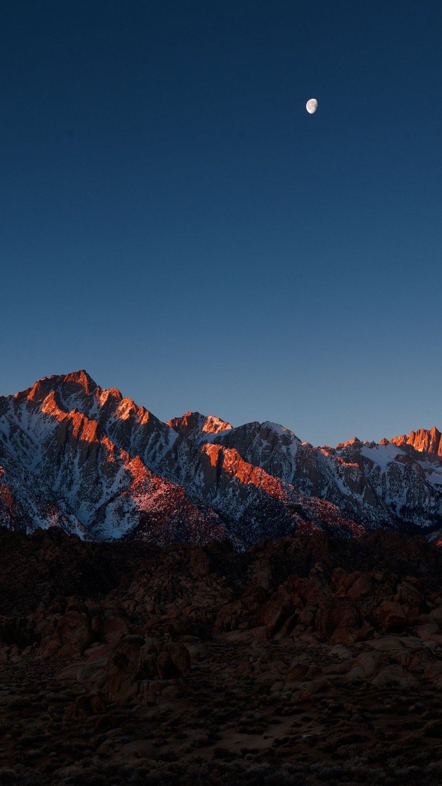 mount whitney alabama hills iPhone Wallpaper iphoneswallpapers com