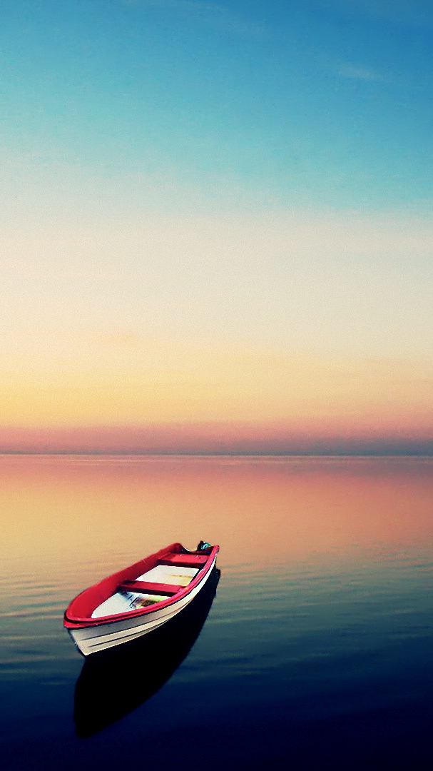 row boat iPhone Wallpaper iphoneswallpapers com