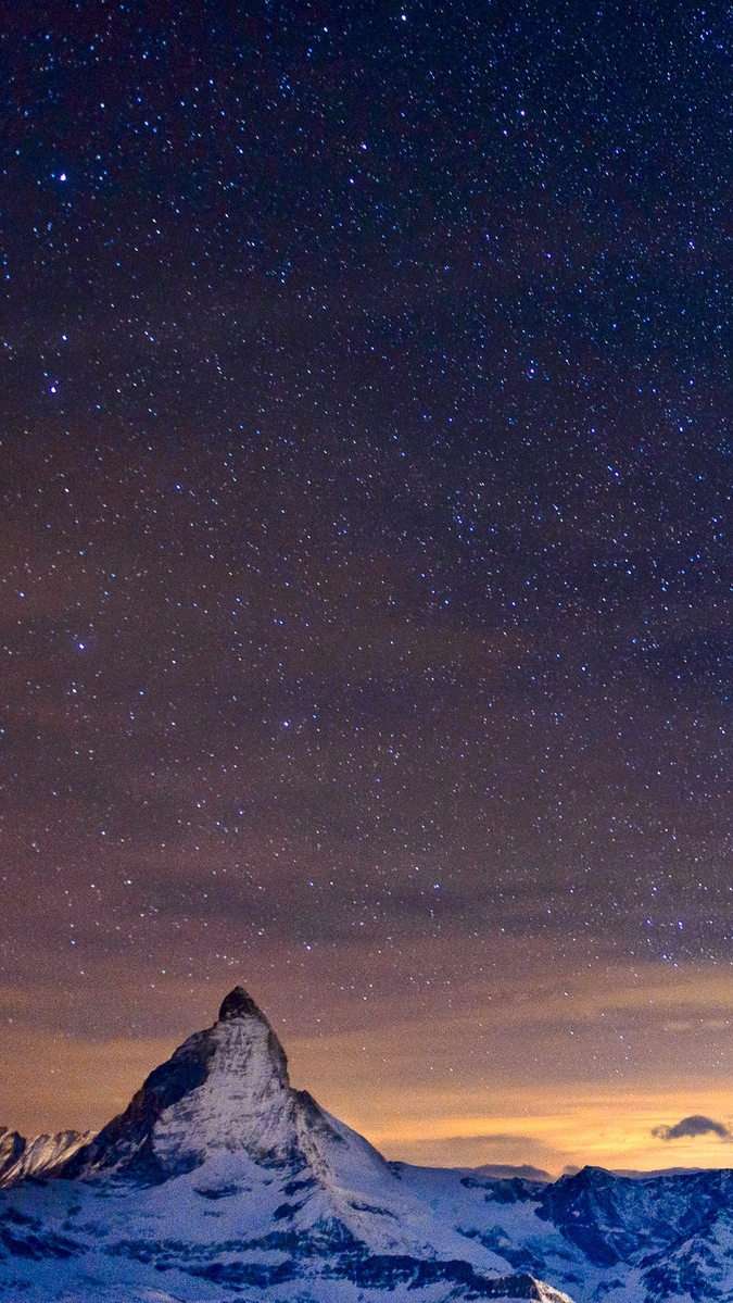 galaxy wallpaper iphone galaxy mountains iphone wallpaper iphoneswallpapers com 10684