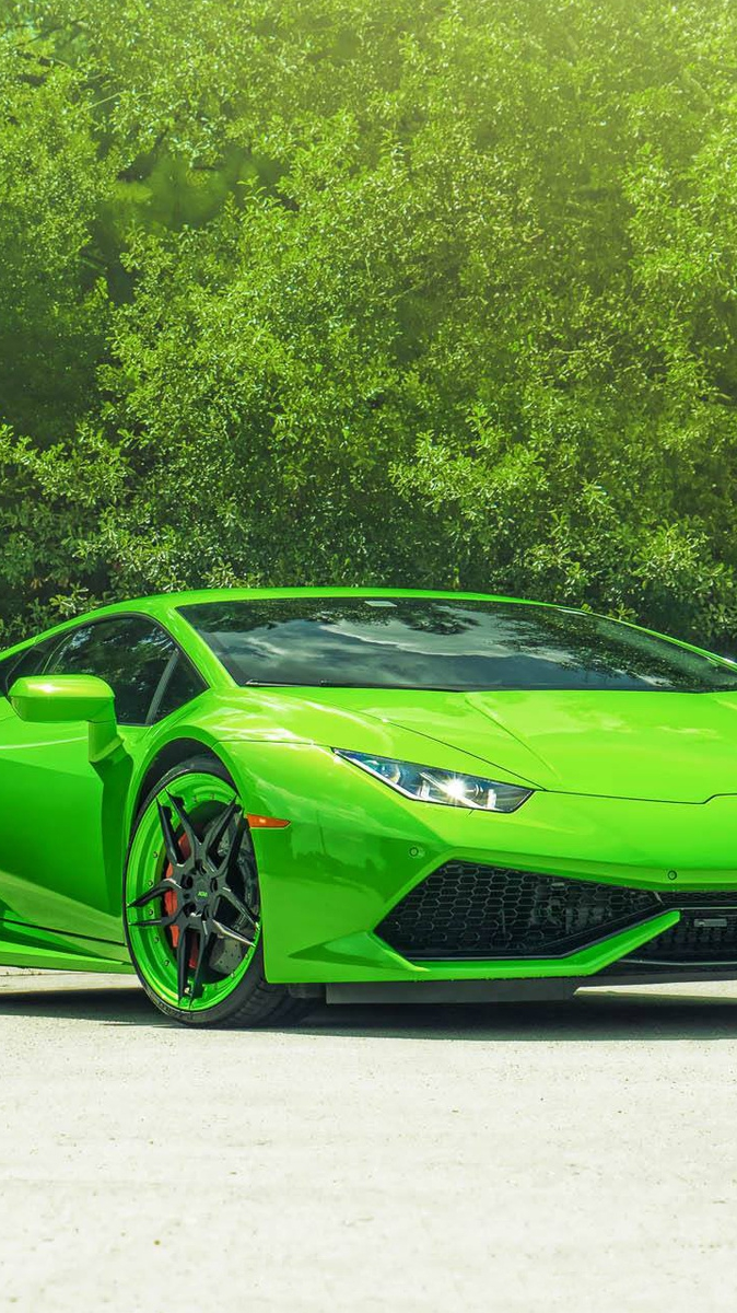 lamborghini hurac n green iphone wallpaper. Black Bedroom Furniture Sets. Home Design Ideas