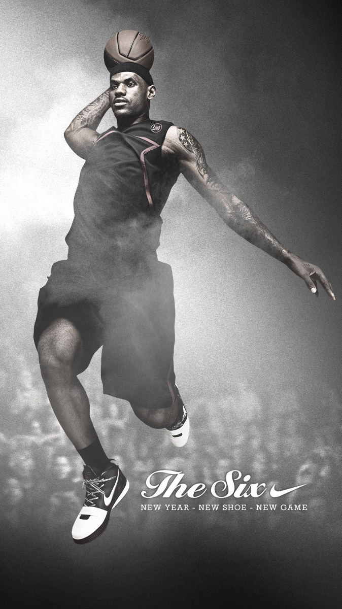 LeBron-James-Basketball-Player-iPhone-Wallpaper
