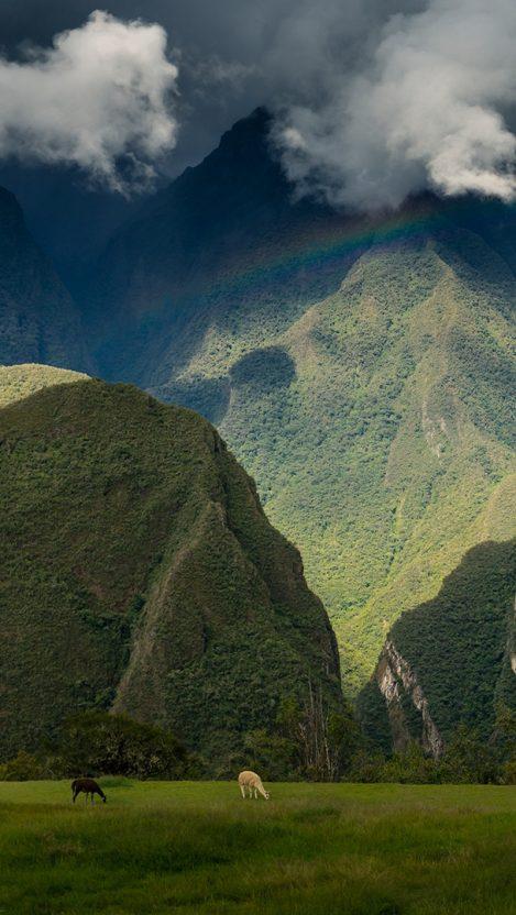Machu Picchu Mountains iPhone Wallpaper iphoneswallpapers com