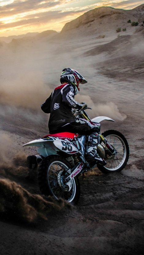 Motocross Mudding iPhone Wallpaper iphoneswallpapers com