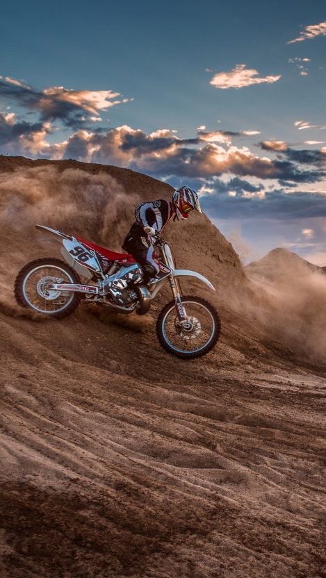 Motocross Stunt iPhone Wallpaper iphoneswallpapers com