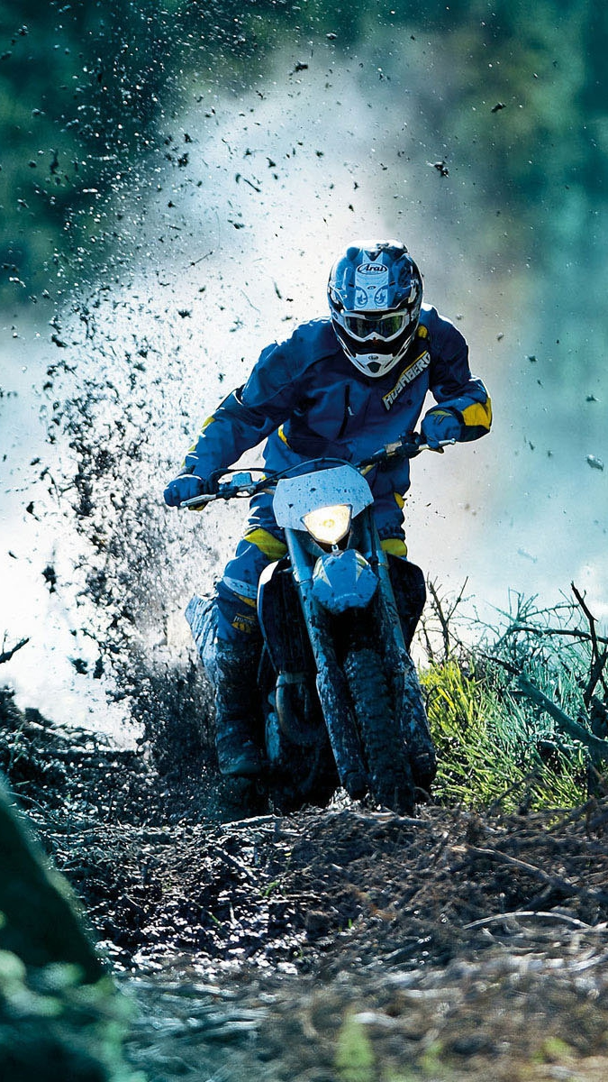 Mud Motocross Racing iPhone Wallpaper iphoneswallpapers com