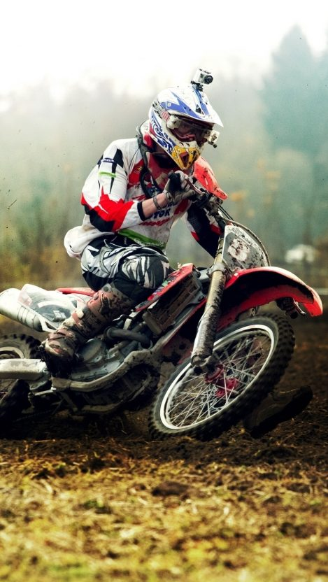 Mud Motocross iPhone Wallpaper iphoneswallpapers com