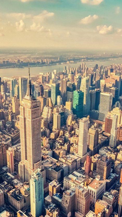 New York City View IPhone Wallpaper