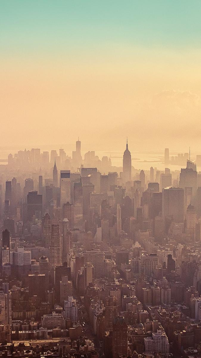 New york skyscrapers iPhone Wallpaper iphoneswallpapers com