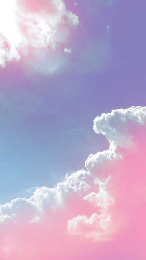 Pink Clouds iPhone Wallpaper iphoneswallpapers com