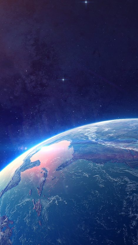 Planet Earth From Space iPhone Wallpaper iphoneswallpapers com