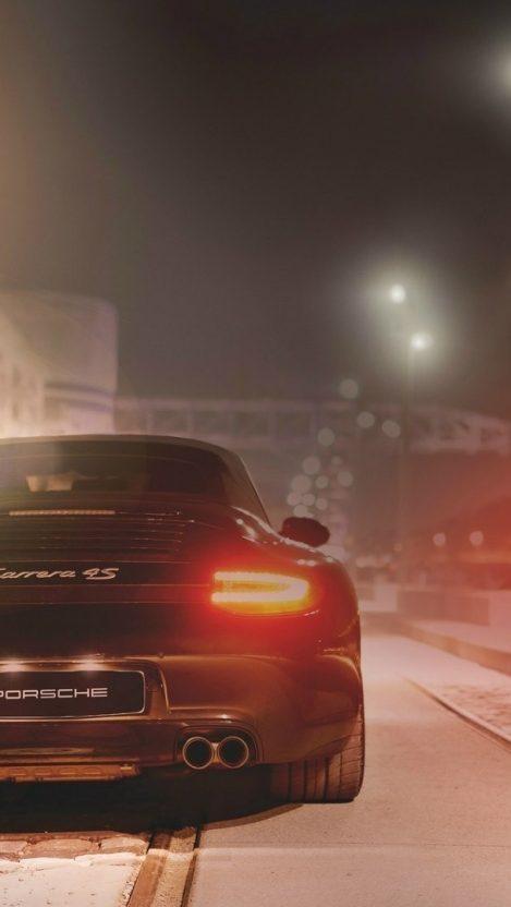 Porsche Carrera 4S IPhone Wallpaper
