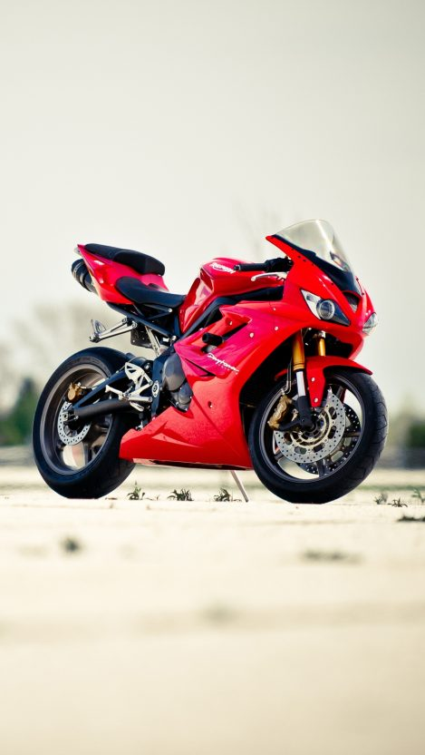 Triumph Daytona 675 iPhone Wallpaper iphoneswallpapers com