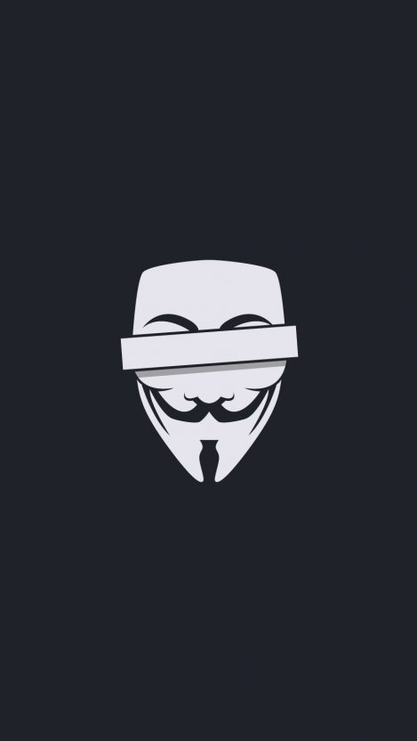 Vendetta Mask iPhone Wallpaper iphoneswallpapers com