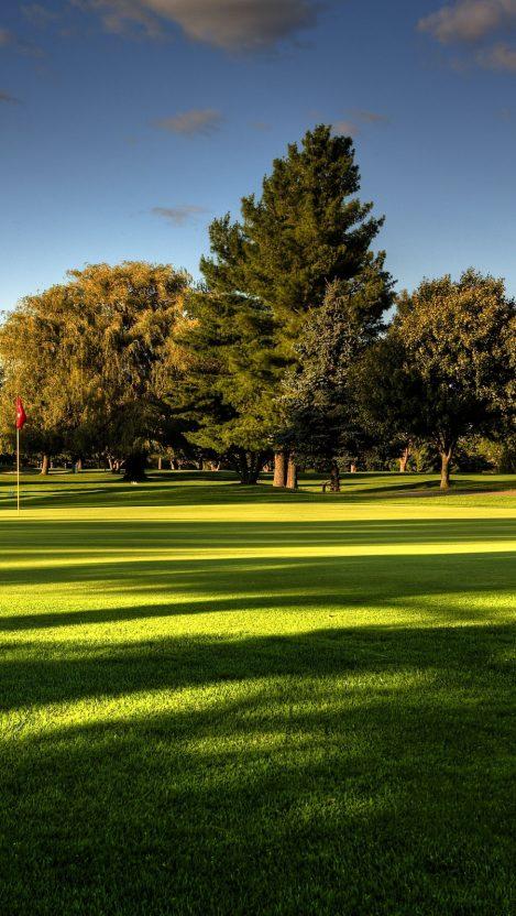 Wallpaper golf course iPhone Wallpaper iphoneswallpapers com