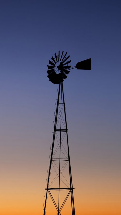 Windmill Tower iPhone Wallpaper iphoneswallpapers com