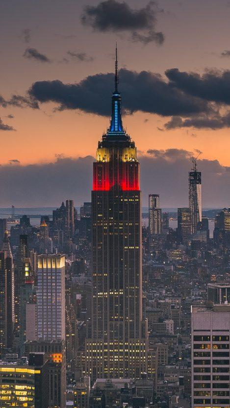 Usa Island New York Manhattan IPhone Wallpaper