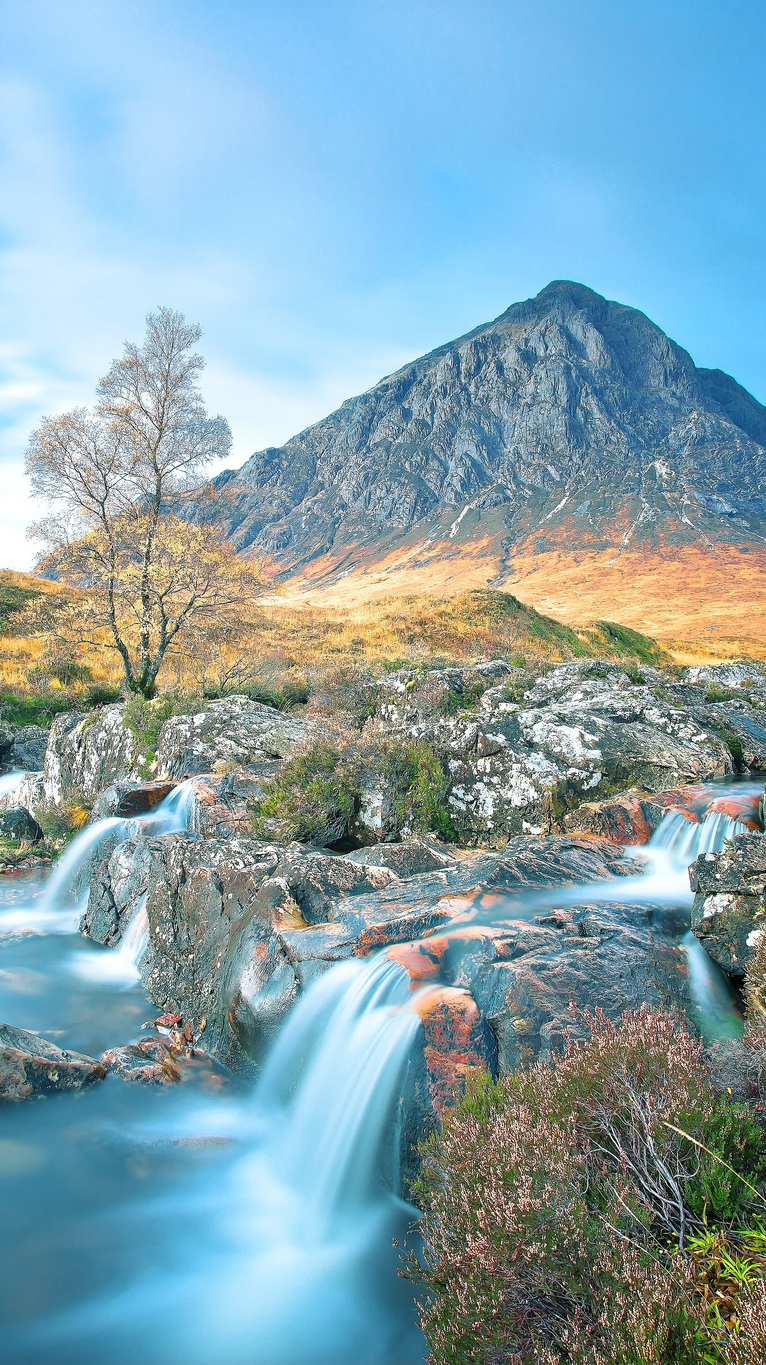 valley of Glencoe Scotland iPhone Wallpaper iphoneswallpapers com