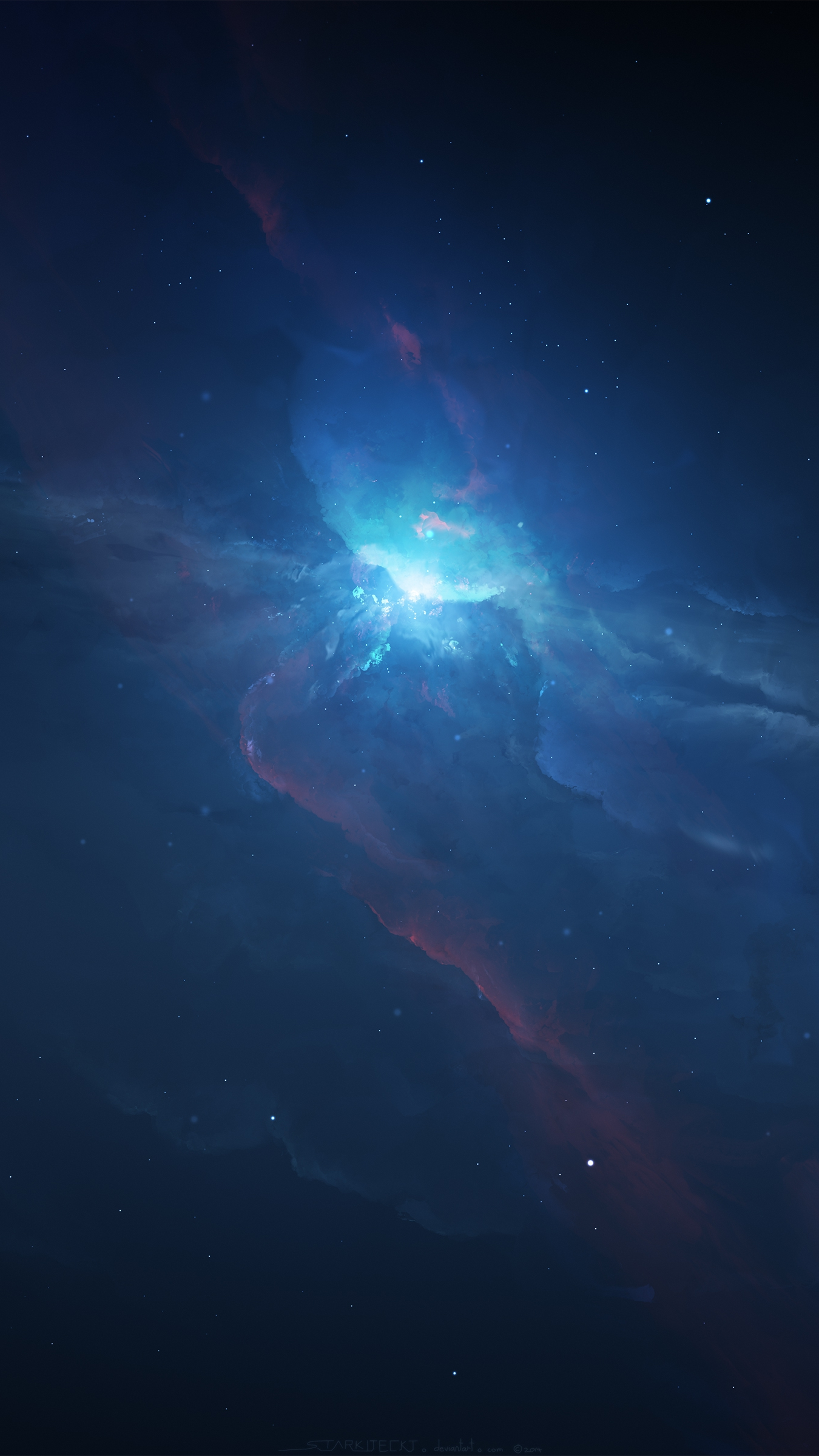 space-nebula-galaxy-stars-universe-iphone-wallpaper - iphone wallpapers