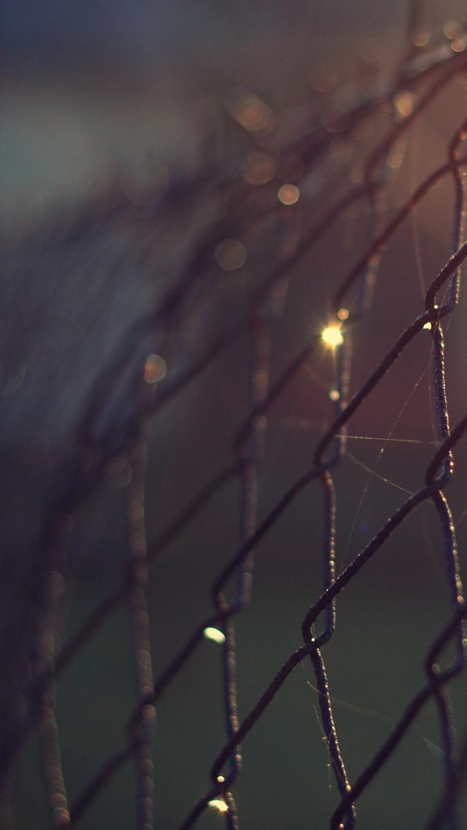 steel-cage-focus-bokeh-wallpaper-iphone-wallpaper