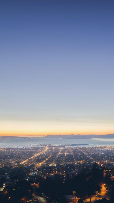 Sunset City Wallpaper IPhone