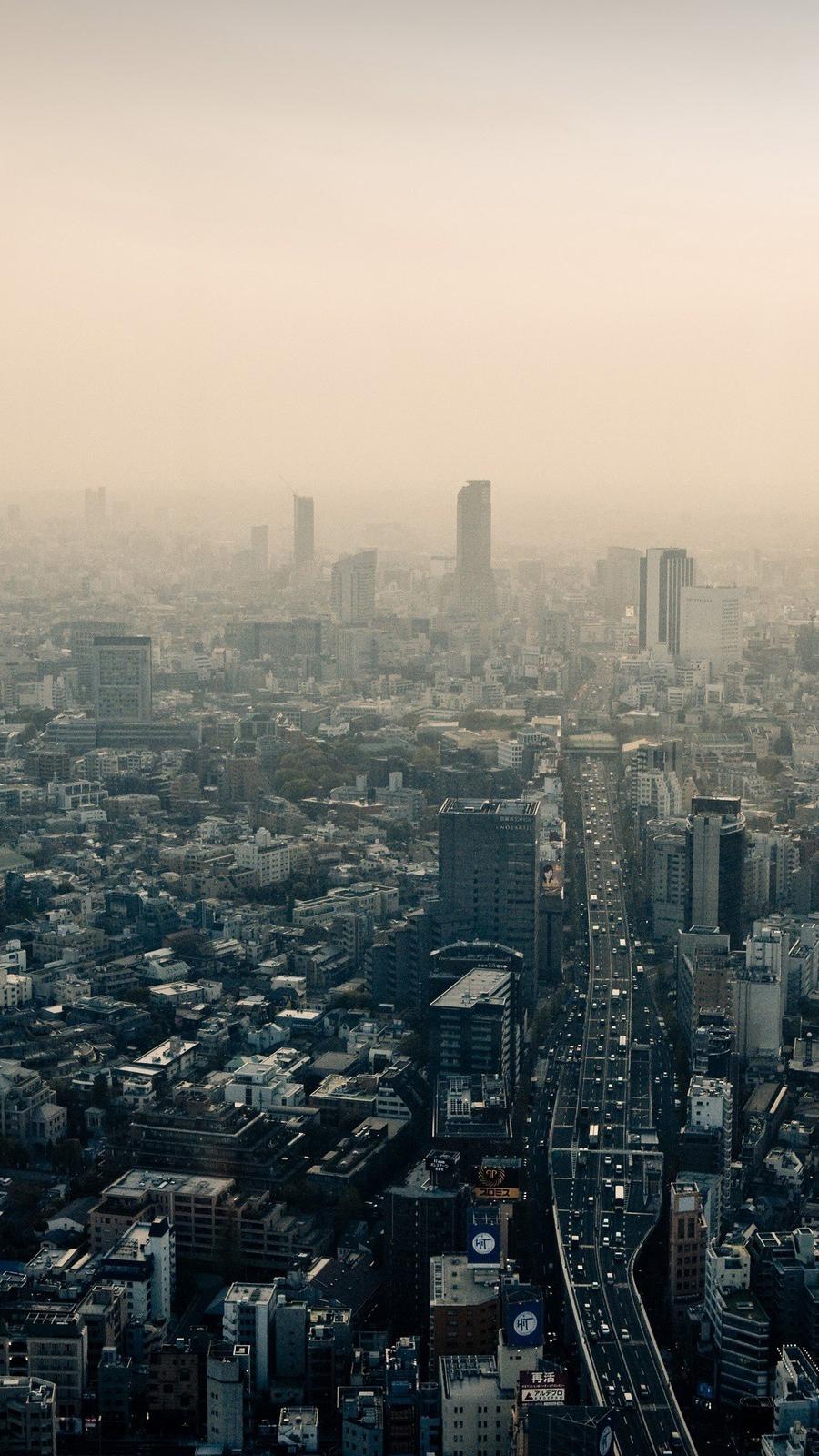 The-Dark-City-of-Japan-Wallpaper-iPhone-Wallpaper - iPhone