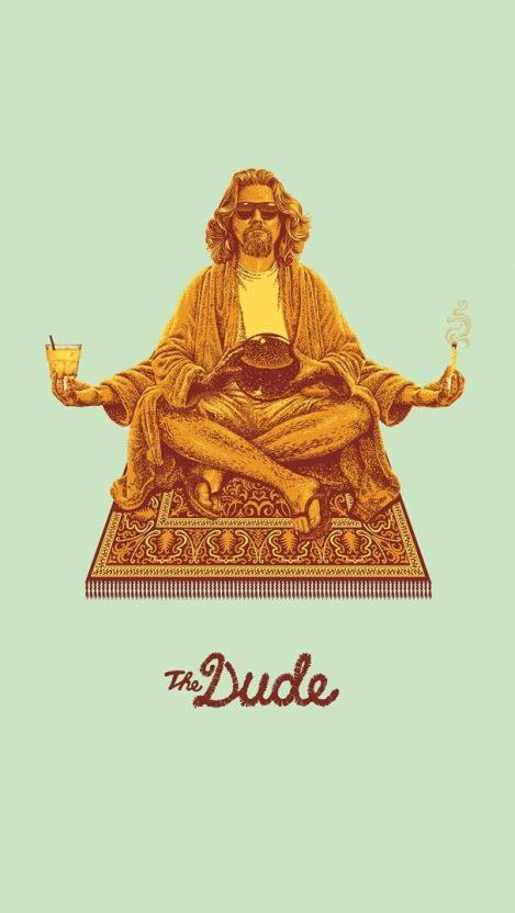 The Dude Wallpaper iPhone Wallpaper iphoneswallpapers com