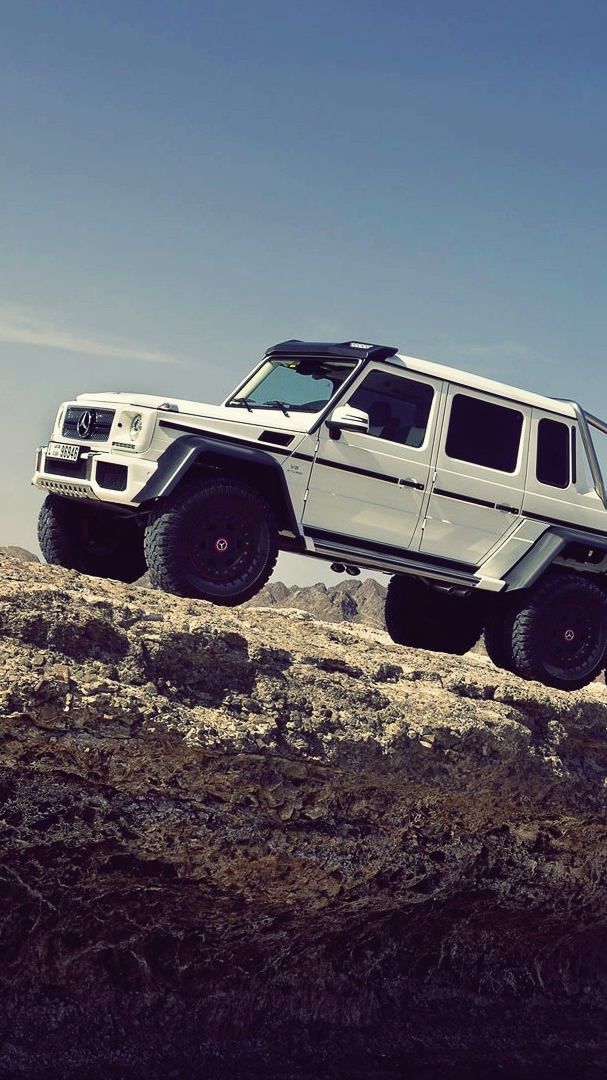 The Mercedes Benz G63 Amg 6x6 Iphone Wallpaper Iphone