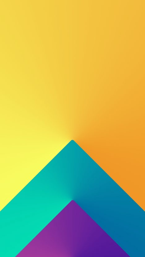 3D Triangle Colors iPhone Wallpaper iphoneswallpapers com