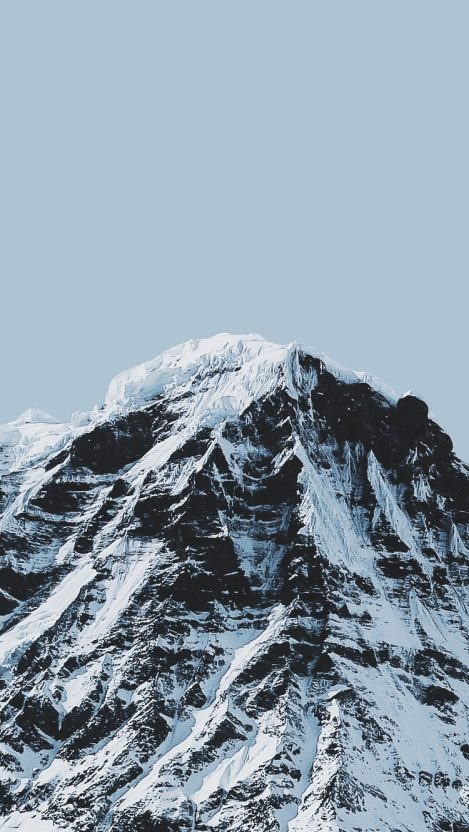 Alps Ice Mountains iPhone Wallpaper iphoneswallpapers com