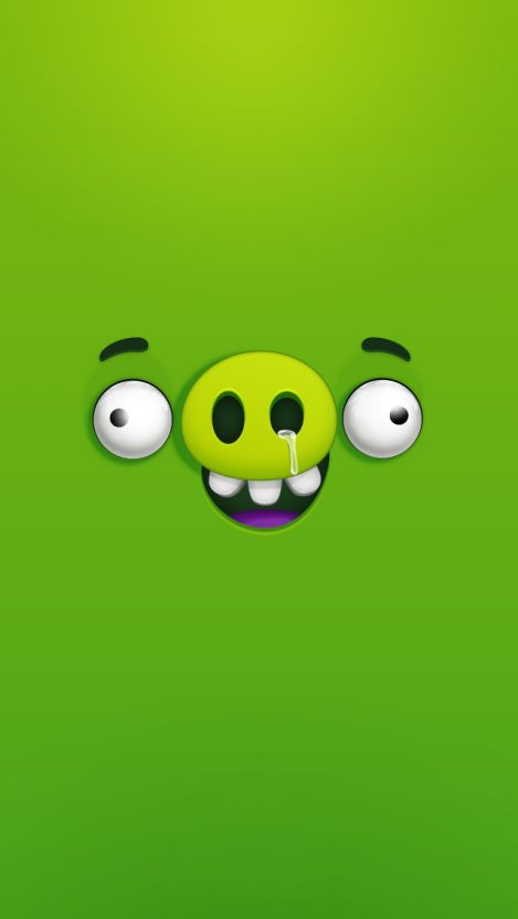 Angry Birds Pig iPhone Wallpaper iphoneswallpapers com