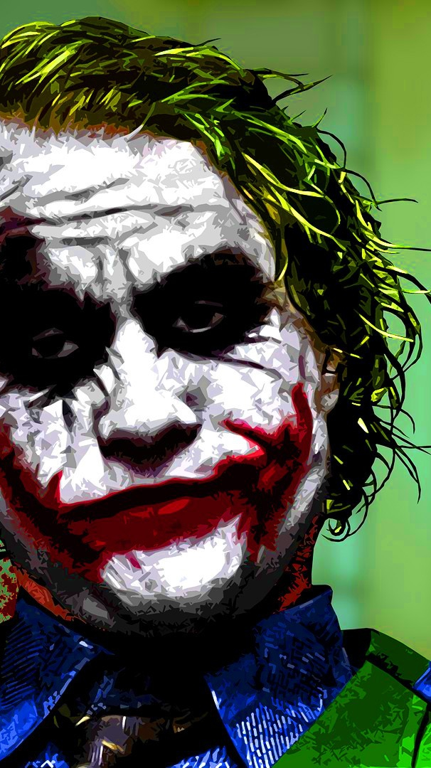 Batman Joker Heath Ledger Wallpaper iPhone Wallpaper iphoneswallpapers com